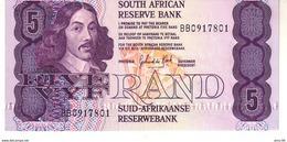 South Africa P.119d 5 Rand 1978-94 Unc - Afrique Du Sud
