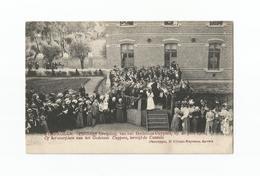 STABROECK.- Inwijding Godshuis Cuypers Op 28 Juni 1908. Op Het Voorplein Van Het Godshuis Cuypers, Terwijl De Cantate. - Stabroek