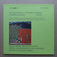 LP/ An Anthology Of Music Of North Indian Classical Music Vol. II - World Music