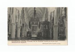 STABROECK.- Inwijding Godshuis Cuypers Op 28 Juni 1908. Binnenzicht Der Dorpskerk. - Stabroek