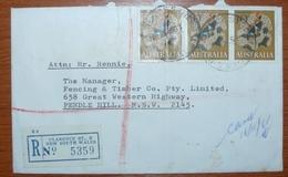 COVER - LETTER - Sobre De Australia - 1966-79 Elizabeth II