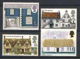 Great Britain 1981. Buildings Nice Set MNH (**) - 1952-.... (Elisabeth II.)