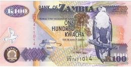ZAMBIE - 100 Kwacha - NEUF - Zambia