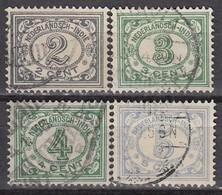 NIED. INDIEN 1928 - MiNr: 156-160 4x   Used - Niederländisch-Indien