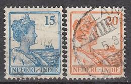 NIED. INDIEN 1929 - MiNr: 171+171A   Used - Niederländisch-Indien