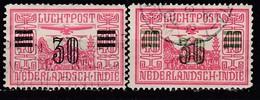NIED. INDIEN 1930 - MiNr: 173 A+b   Used - Niederländisch-Indien