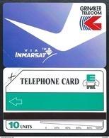 Tanzania 10u Grinaker Telecom Via INMARSAT 1991 MINT URMET Neuve - Tanzania