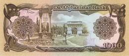 AFGHANISTAN - 1000 Afghanis - NEUF - Afghanistan