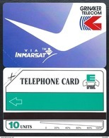 South Africa 10u Grinaker Telecom Via INMARSAT 1991 MINT URMET Neuve - Afrique Du Sud