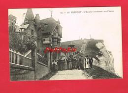 [76] Seine Maritime > LE TREPORT L'Escalier Conduisant Aux Falaises - Le Treport