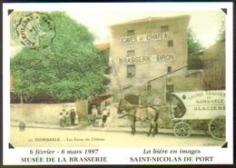 """Carte Postale """"Cart'Com"""" - Série Expos, Salons, Musées - La Bière En Images - Musée De La Brasserie - Musées"""