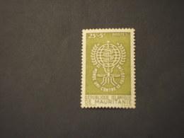 MAURITANIE - 1962 MALARIA(SERPENTE) - NUOVO(++) - Mauritania (1960-...)