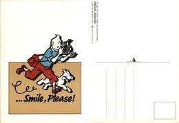 Tintin Smile Please - Color Star Benelux 1992 - Bandes Dessinées