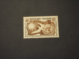 MADAGASCAR - 1958 DIRITTI(COLOMBA) - NUOVO(++) - Madagascar (1960-...)