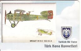 TURKEY(chip) - Airplane, Breguet XIV B-2 1922-26 14(50 Units), Used - Army