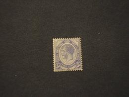 SUD AFRICA - 1923/20 RE 3 P. - NUOVO(+) - Sud Africa (...-1961)