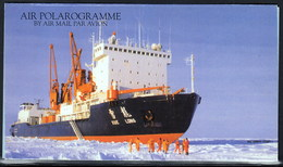 "ANTARCTIC,CHINA, Air Polarogramme, Icebreaker ""XUE LONG"",4 Signatures !! Look Scan !! 16.2-09 - Timbres"