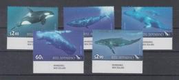 Ross Dependency 2010 Mi 119-23 Mnh Whales - Neufs