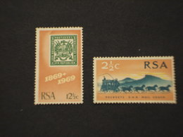 RSA - 1969 ANNIVERSARI 2 VALORI - NUOVO(++) - Sud Africa (1961-...)