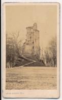 Photo Ancienne CDV XIXe Ruines De VIRE (14) Circa 1880 Photographe Léon RUPPE à Vire - Lieux