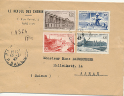 PARIS - 1947 , UPU , Weltpostkongress - UPU (Universal Postal Union)