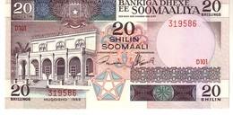 Somalia P.33 20 Shillings 1989  Unc - Somalie
