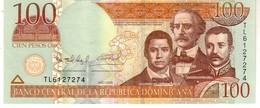 Dominican Republic  P.177b  100 Pesos 2009 Unc - Dominicana