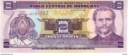 Honduras P.80  2 Lempiras 2006 Unc - Honduras