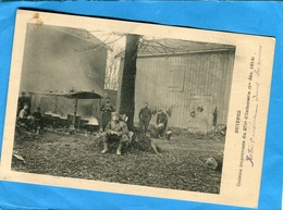 Guerre 14-18+SUIPPES-Cuisine Improvisée Du 271ème D'infanterie*-animée 1er Dec 1914 - Guerra 1914-18