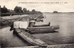 LA POSSONNIERE - Les Bateaux Dans Le Port - Other Municipalities