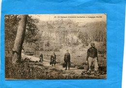 Guerre 14-18+corvée  D'eau Au --54ème Inf Territoriale-animée - Guerre 1914-18