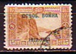 BULGARIA \ BULGARIE - 1913 - Serie Courant De 1911 Avec Surcharge - 15 St. Obl. - Used Stamps