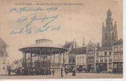 CPA Roeselare - Groote Markt En Sint-Michiel's Toren (avec Jolie Animation) - Roeselare