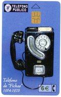 "Espana. Espagne. Spain. Telefono Publico. Teléfono De ""Fichas"" 1964-1975. 6 €. Telecomunicaciones Publicas. - Telephones"