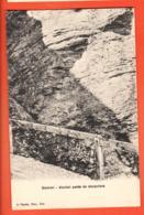EBE-14 Ancien Poste De Douaniers Douane Zoll Gemmi Sur Loèche-les-Bains, Pasche , Non Circulé - VS Wallis