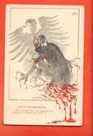 EBE-24 1914 Litho L'aveu De Bethmann-Holweg. Non Circulé - Guerra 1914-18