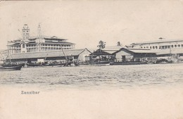 ZANZIBAR. (TANZANIA) CIRCULEE 1908-RARISIME- BLEUP - Tanzania