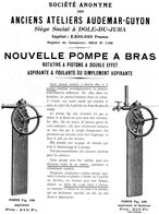 28 Dole Jura Audemar Guyon Pompe A Bras - Publicités