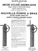28 Dole Jura Audemar Guyon Pompe A Bras - Advertising