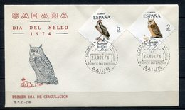 Sahara 1974. Edifil 317-18. FDC. - Sahara Español