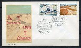 Sahara 1973. Edifil 310-11. FDC. - Sahara Español