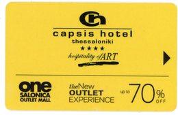 Greece. Capsis Hotel Thessaloniki ****. Hospitality Of Art. Polo, Ralph Lauren, Boss, Tommy Hilfiger, Adidas, Diesel,... - Cartes D'hotel