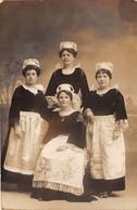QUIMPERLE - Carte Photo - Femmes - Costumes Bretons - Août 1918 - Quimperlé