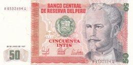 Peru 1987 50 Cincuenta Intis (G88-52) - Pérou