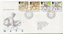 Great Britain Set On Used FDC - Geography