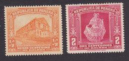 Panama, Scott #278, 280, Mint Hinged, Ruins Of Custom House, La Pollera, Issued 1936 - Panama