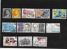 ESPAGNE 2204 à 2206/2209/2212 à 2215/2217 à 2220 Oblitéres Rond - 1931-Hoy: 2ª República - ... Juan Carlos I