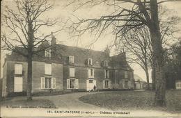 CARTE POSTALE - SAINT-PATERNE - Château D'Hodebert - Ille-et-Vilaine (35) - France