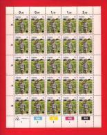 TRANSKEI, 1982, MNH Stamp(s) In Full Sheets, Boys Scouts,  Nr(s) 103-106 - Transkei