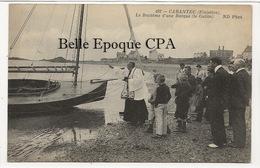 29 - CARANTEC - Le Baptême D'une Barque - Le Galito +++ ND Phot., #492 ++++ - Carantec